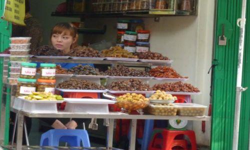 Zdjęcie WIETNAM / Ha Noi / sklepik / Kandyzowane owoce