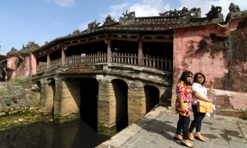 WIETNAM / środkowy Wietnam / Japoński Kryty Most / Hoi An