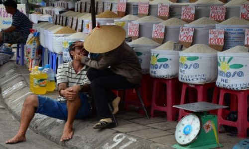 Zdjęcie WIETNAM / Wietnam południowy / Ho chi minh / Uliczne Spa