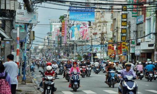Zdjęcie WIETNAM / HCMC / HCMC / Motocykle