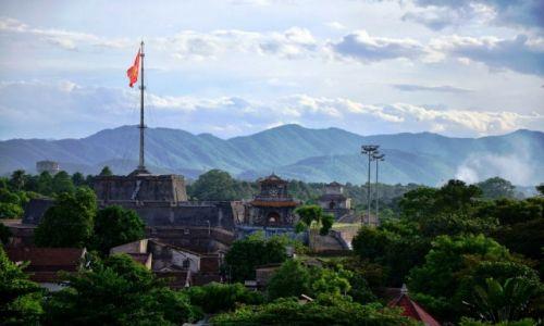 Zdjęcie WIETNAM / Hue / Hue / Widok na Hue