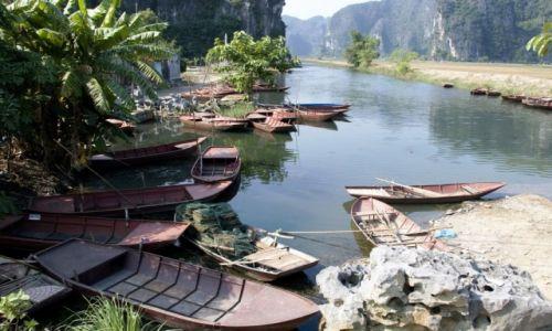 WIETNAM / Ninh Binh / okolice Ninh Binh / Rajski krajobraz