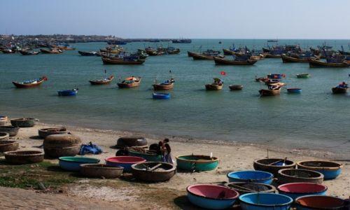 Zdjęcie WIETNAM / Binh Thuan / Mũi Né / Port rybacki Mũi Né