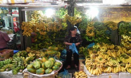 Zdjęcie WIETNAM / hanoi / bazar / bananowo