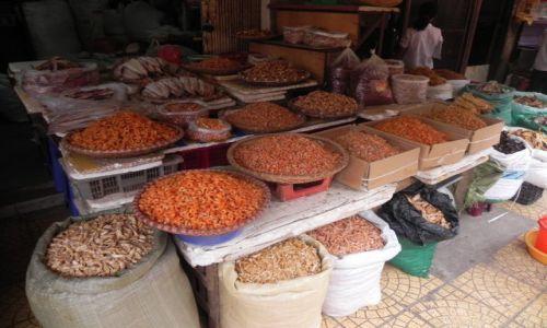 Zdjęcie WIETNAM / hanoi / bazar / krewetki suszone