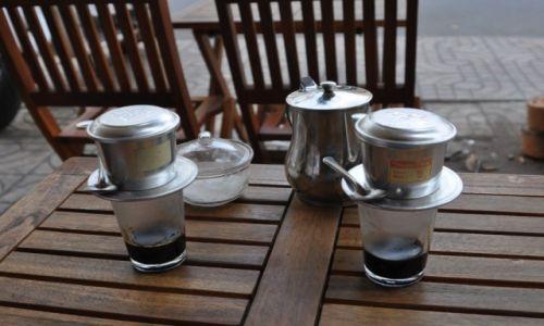 WIETNAM / po�udnie / Ho Chi Minh  / kawa po wietnamsku