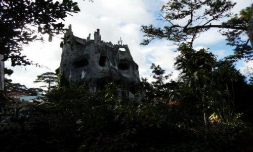 Zdjęcie WIETNAM / Da Lat / Da Lat / straszny dom