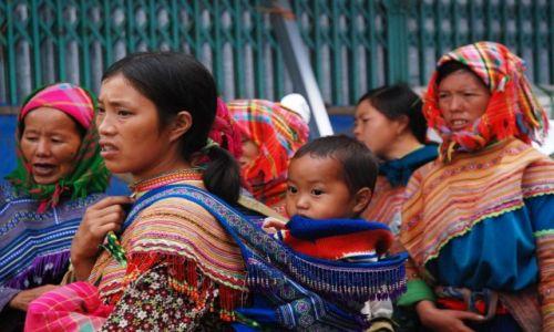 Zdjecie WIETNAM / Bac Ha  / BAC HA  / Kobiety Hmong
