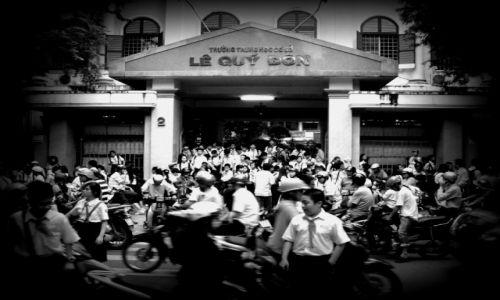 Zdjecie WIETNAM / Delta Rzeki Czerwonej / Hanoi / Szkoła