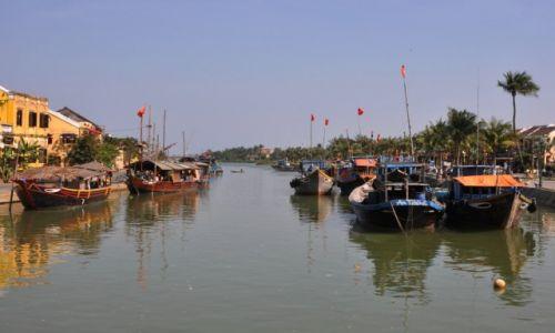 WIETNAM / środkowy Wietnam / Hoi An / Wodny szlak
