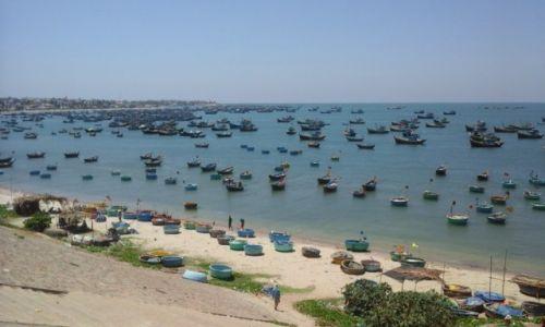 Zdjecie WIETNAM / Południowo-wschodnie wybrzeże / Mui Ne / Wioska rybacka