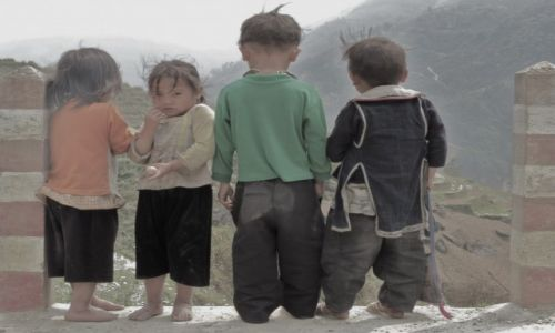 Zdjęcie WIETNAM / Północny / przy granicy z chinami / dzieciaki