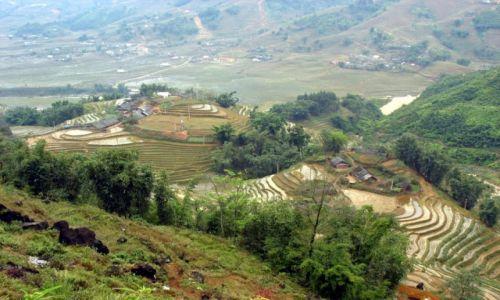 Zdjecie WIETNAM / - / okolica Sapa / Wieś Czarnych Hmongów