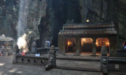 Zdjęcie WIETNAM / Da Nang / Góry Marmuroww / Jaskinia