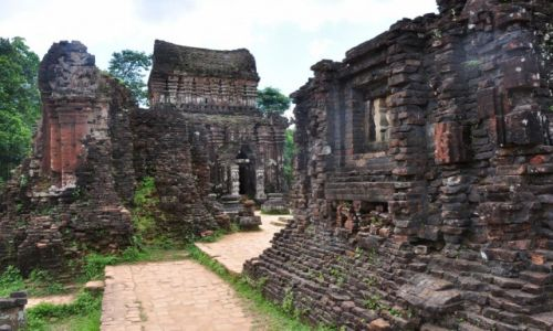Zdjęcie WIETNAM / Hoi an  / Da Nang / ruiny Mý sôn