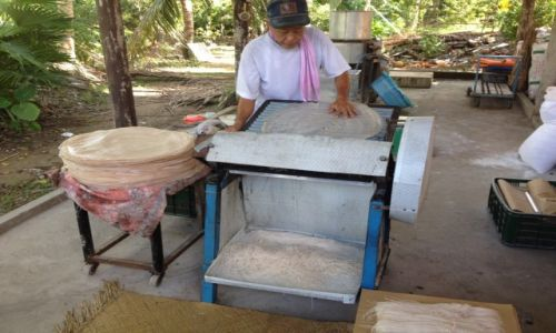 Zdjecie WIETNAM / delt Mekongu  / Sajgon / Produkcja makar