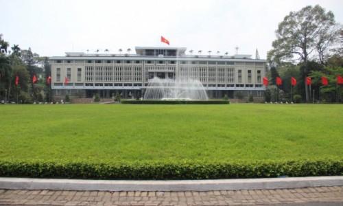 WIETNAM / Sajgon / Sajgon / Pałac zjednoczenia