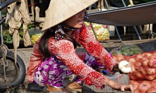 Zdjecie WIETNAM / Delta Mekongu / Can Tho / Floating market