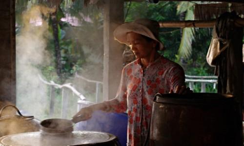 Zdjecie WIETNAM / Delta Mekongu / Delta Mekongu / Makaron ryżowy