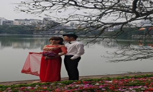 Zdjecie WIETNAM / Północ / Hanoi / Nad jeziorem