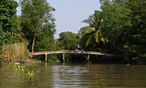 Zdjecie WIETNAM / Delta Mekongu / Delta Mekongu / Na motorze