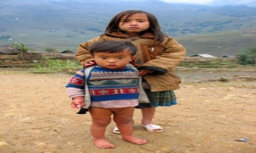 WIETNAM / Wietnam Północny / okolice Sapa / Wszystkie dzieci są nasze...