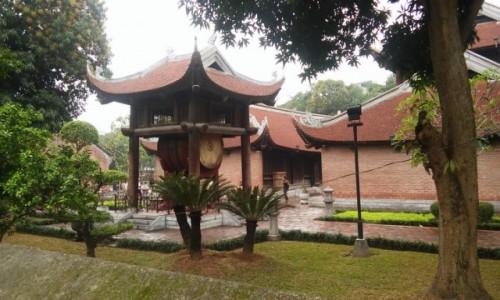 WIETNAM / Północny Wietnam / Hanoi / Świątynia Literatury