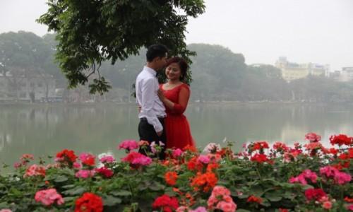 WIETNAM / Północny Wietnam / Hanoi / Zdjęcia ślubne w Hanoi