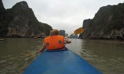 Zdjecie WIETNAM / P�nocny Wietnam / Ha Long Bay / Kajakiem po Ha