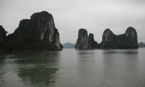 WIETNAM / P�nocny Wietnam / Ha Long Bay / Ska�y na Ha Long Bay 2