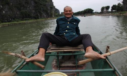 Zdjecie WIETNAM / Wietnam Północny / Ninh Binh / Przewoźnik 2