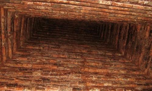 Zdjęcie WIETNAM / Wybrzeże Południowo-Środkowe / My Son / Sklepienie wieży w budowli ludu Czamów – My Son, Wietnam