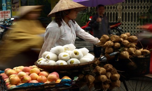 WIETNAM / - / HaNoi / Ulice Hanoi2