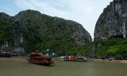 Zdjecie WIETNAM / - / Wietnam / W Zatoce Ha Lon