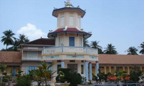 Zdjęcie WIETNAM / Południowy Wietnam / Cao Dai / CAO DAI TEMPLE PAGODA