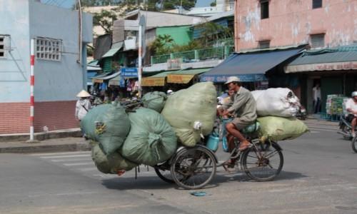 Zdjecie WIETNAM / Wietnam / Ho Chi Minh / Wietnamczyk pot