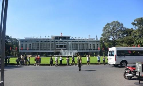 Zdjecie WIETNAM / - / Ho Chi Minh, dawniej Sajgon / Pałac Niezależności