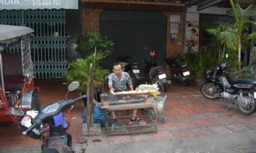 Zdjecie WIETNAM / - / Hanoi / Handel na ulicach Hanoi