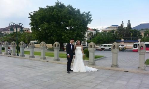 Zdjecie WIETNAM / - / Hanoi / Nowożeńcy w Hanoi
