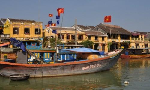 Zdjęcie WIETNAM / środkowy Wietnam / Hoi An / W porcie Hoi An