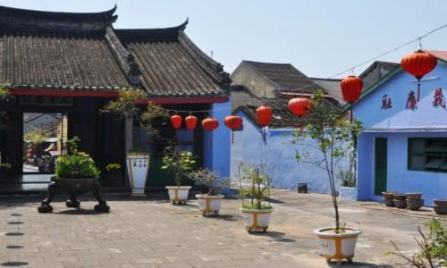 Zdjęcie WIETNAM / środkowy Wietnam / Hoi An / Na dziedzińcu w Hoi An