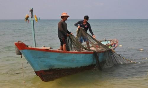 WIETNAM / Zatoka Tajlandzka / Wyspa Phu Quoc / Poranny połów