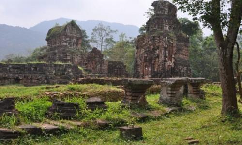 Zdjęcie WIETNAM / środkowy Wietnam / 40 km od Hoi An / Ruiny My Son
