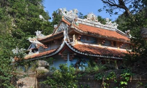 Zdjęcie WIETNAM / środkowy Wietnam / Góry Marmurowe / Świątynia na górze Thuy Son