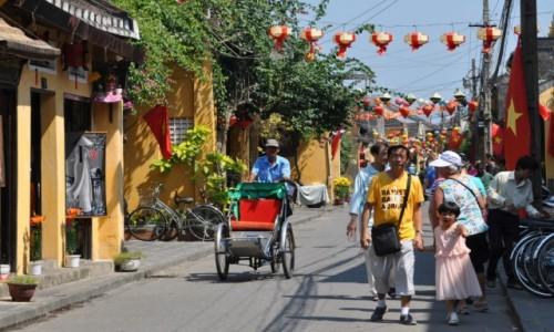 Zdjęcie WIETNAM / środkowy Wietnam / Hoi An / Uliczka w Hoi An