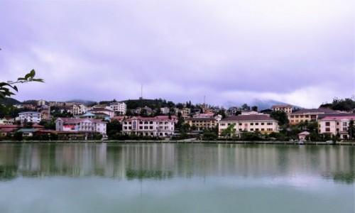 WIETNAM / Lao Cai / Sa Pa / Sa pa - malownicze miasteczko