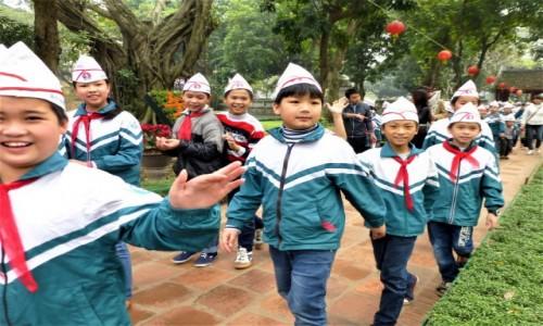 Zdjecie WIETNAM / .. / Hanoi / Zwiedzając Swiątynię Literatury
