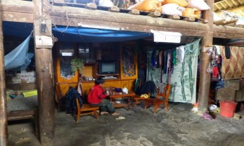 Zdjecie WIETNAM / prowincja Lao Cai / wioska przy granicy z Chinami / Odrabianie lekcji