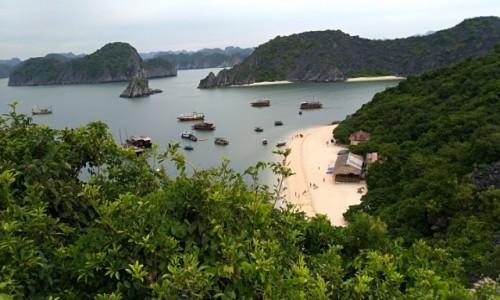 Zdjecie WIETNAM / - / Zatoka Halong  / Monkey Island Zatoka Halong