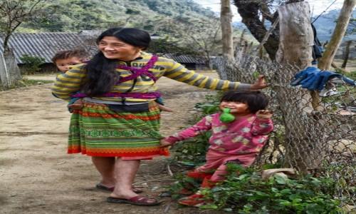 WIETNAM / Prowincja Hoà Bình / wioska Białych Tajów (okolica Mai Chau) / Wsi spokojna